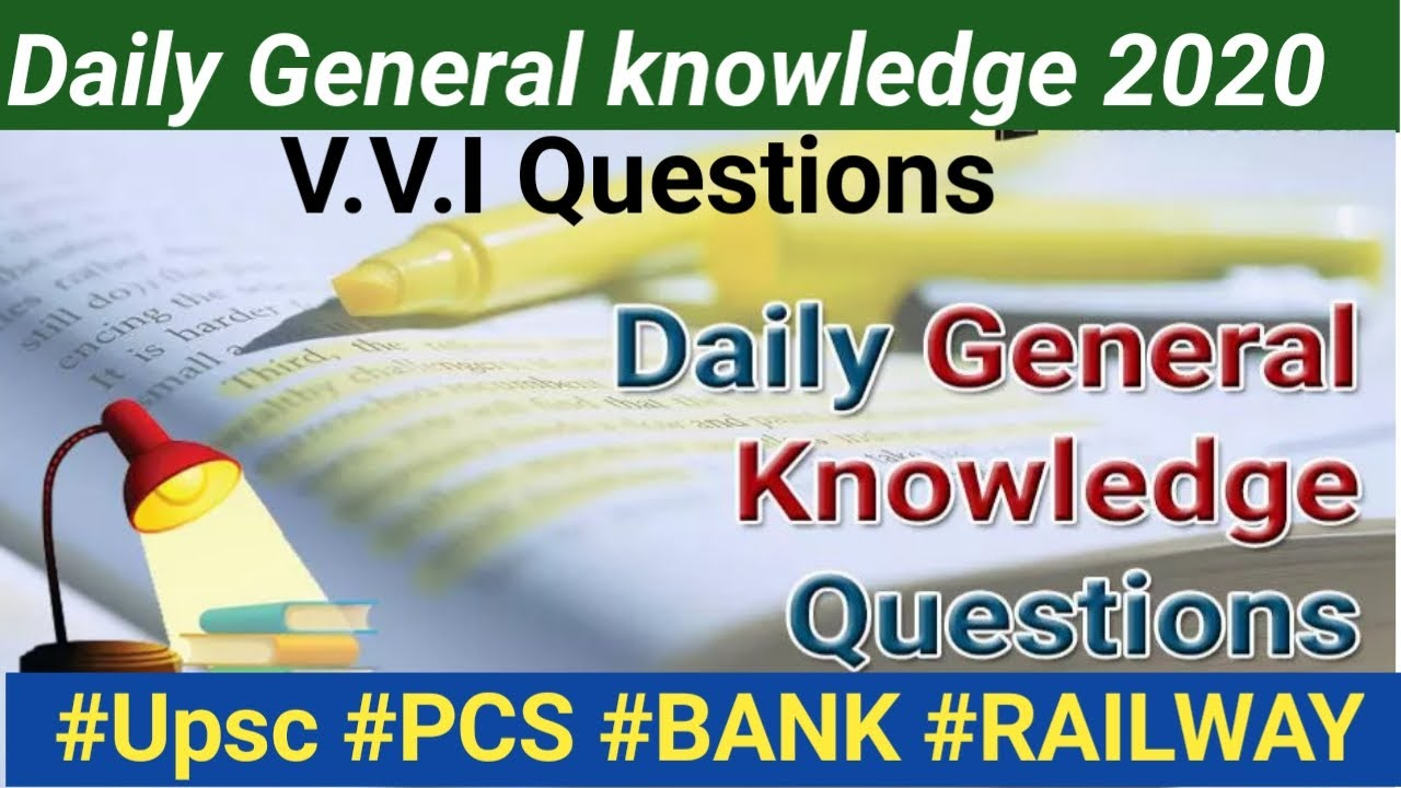 Daily General knowledge Questions and Answers in English ...