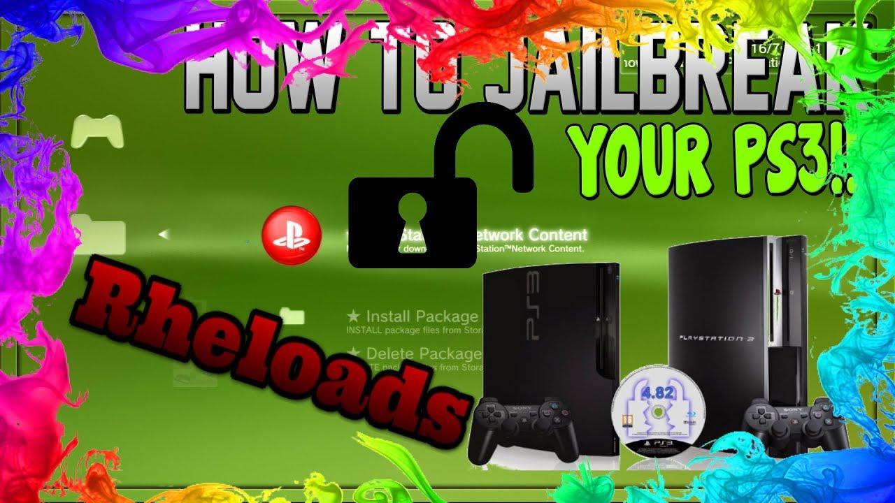PS3 Jailbreak !4 82! CFW OHNE E3 Flasher | Part 1 | Ps3Xploit v2 0 |  Tutorial Deutsch German by Rheloads