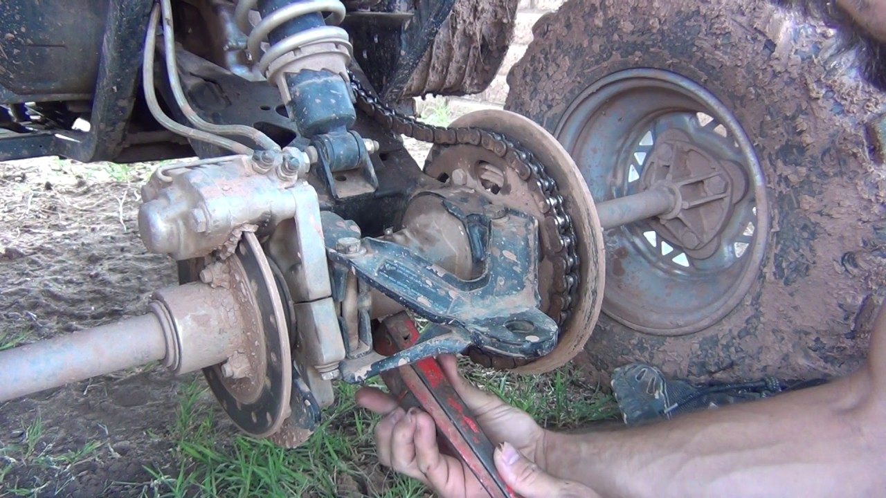 hight resolution of how to tighten a chain on a polaris scrambler 500 trail boss 330