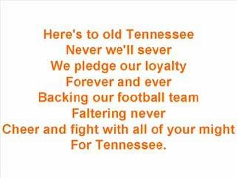 """University of Tennessee Fight Song - """"Down the Field"""""""