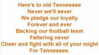 "University of Tennessee Fight Song - ""Down the Field"""