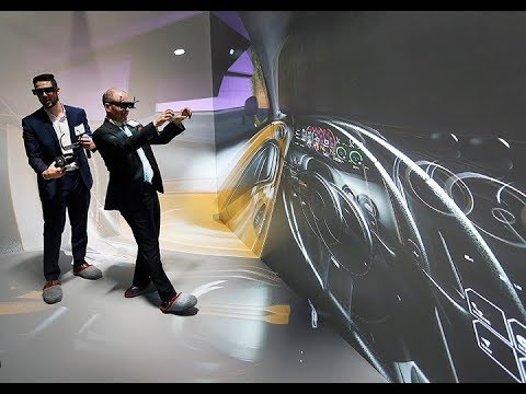 Virtual Reality Cave Takes Automotive Design To Next Level Windsor Star