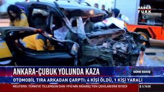 Ankara-Çubuk yolunda kaza