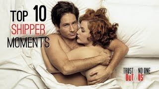 Top 10 X-Files Shipper Moments | Trust No One But Us