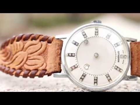 Vintage Hamlin Mystery Dial Wristwatch Review