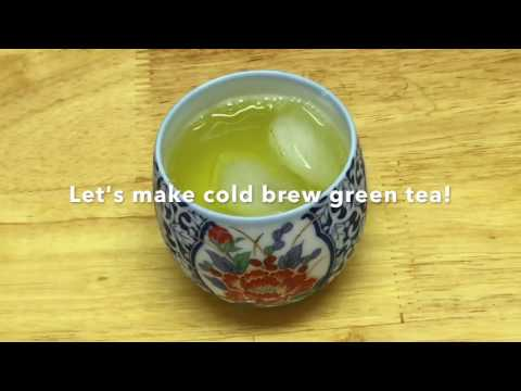 How to brew iced green tea loose leaf