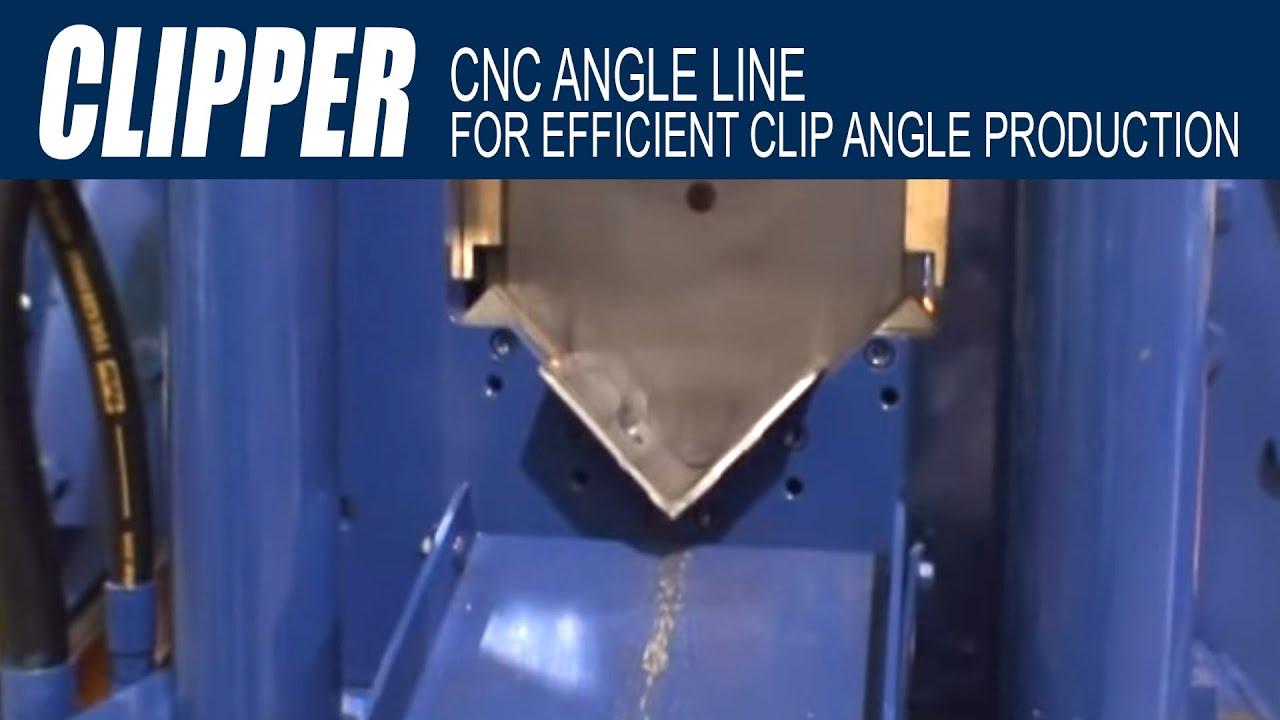Ocean Clipper CNC Angle Line