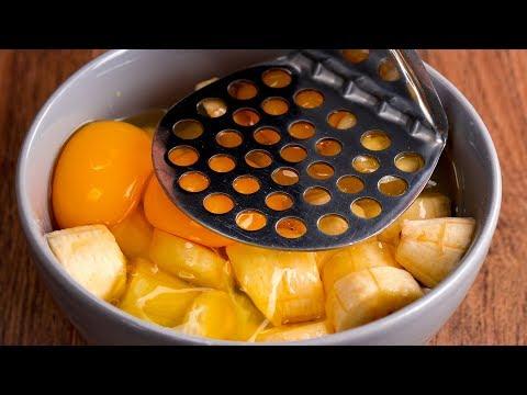 j'ai-mélangé-3-bananes-et-2-œufs-et-j'ai-obtenu-un-dessert-exceptionnel.|-savoureux.tv