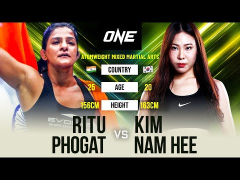 Ritu Phogat vs. Nam Hee Kim | Full Fight Replay