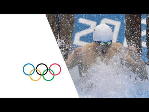 Sun Yang Smashes Men's 1500m Freestyle World Record - London 2012 Olympics