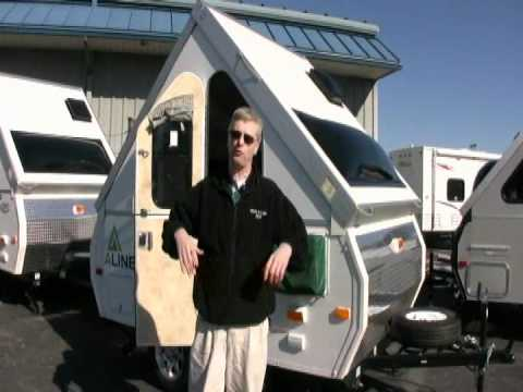 A Liner Camper >> *SOLD* Columbia Northwest 2012 Aliner Sport folding camper - 30265 - YouTube