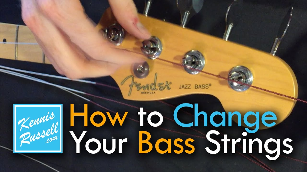 How To Change Your Bass Strings The Right Way Youtube Ernie Ball 3 Switch Wiring