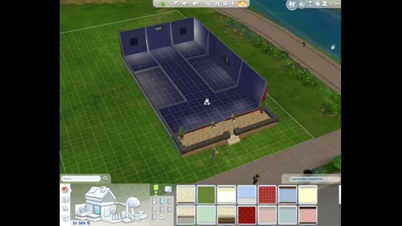 Как сделать крышу в симс фото 657