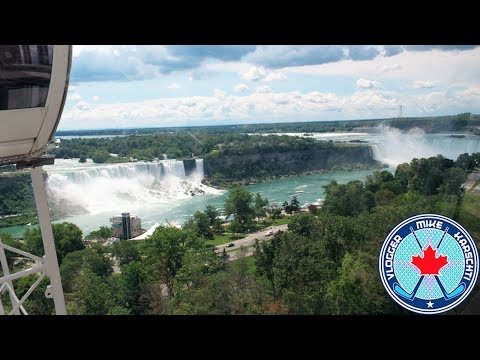 NIAGARA SKYWHEEL! CLIFTON HILL! NIAGARA FALLS! FIREWORKS! Nothin' Much Vlog! 123