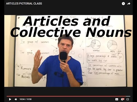 Articles and Collective Nouns