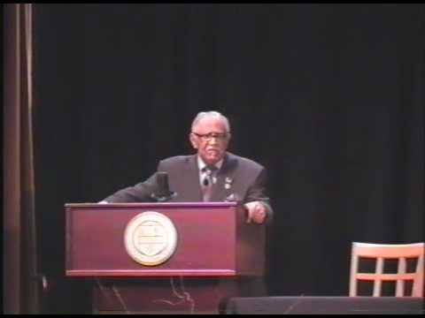 Part 1: Rev. Joseph Lowery at University of Rochester