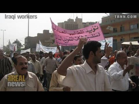 Iraqi workers and the occupation