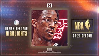Welcome To Chicago DEMAR DEROZAN! 🐂 2021 Season Highlights   CLIP SESSION
