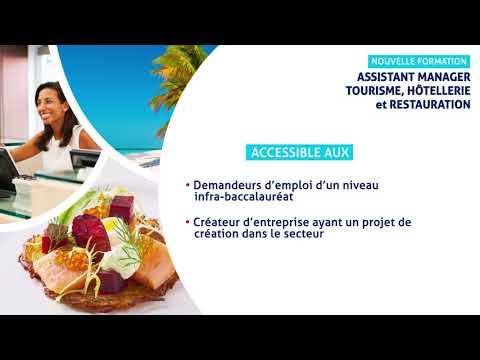 Formation Assistant Manager Tourisme Hôtellerie Et Restauration