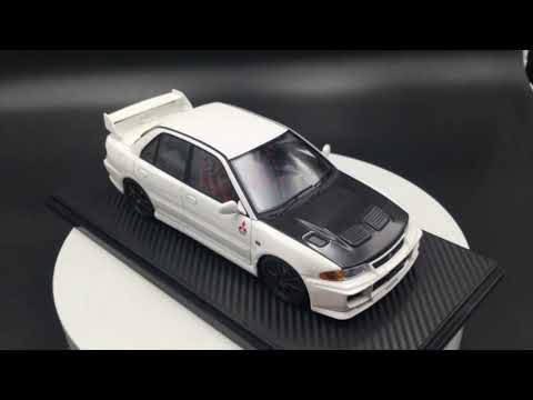 Ignition model 1:18 Mitsubishi Lancer Evolution Ⅲ GSR (CE9A)  White2 (IG1547)