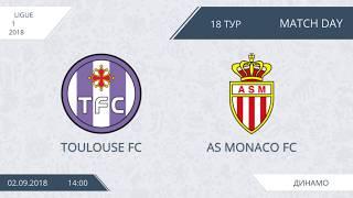 Toulouse FC 1:11 AS Monaco FC, 18 тур (Фр)