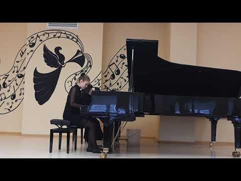 Ноктюрн Г. Балаев исполняет Ангелина и ее педагог Агапова Лилия Петровна!