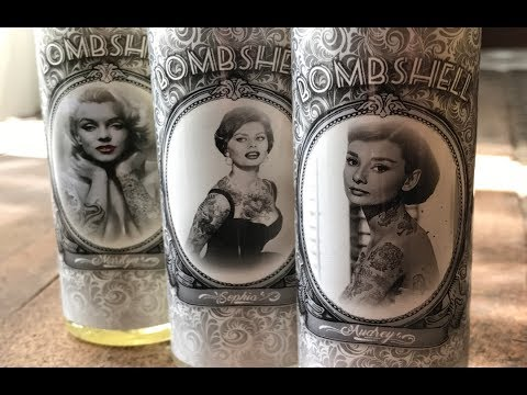 F***ING AWESOME BOMBSHELL JUICE LINE BY HIGH CLASS VAPE CO. E JUICE REVIEW