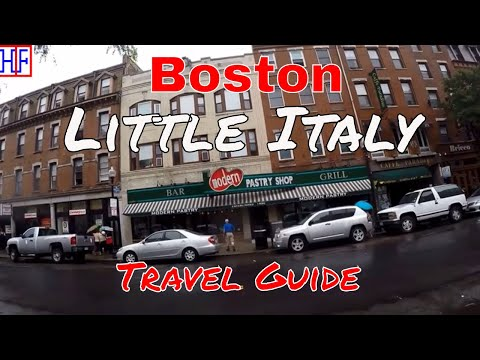 Boston | Little Italy | Tourist Attractions | Episode# 8