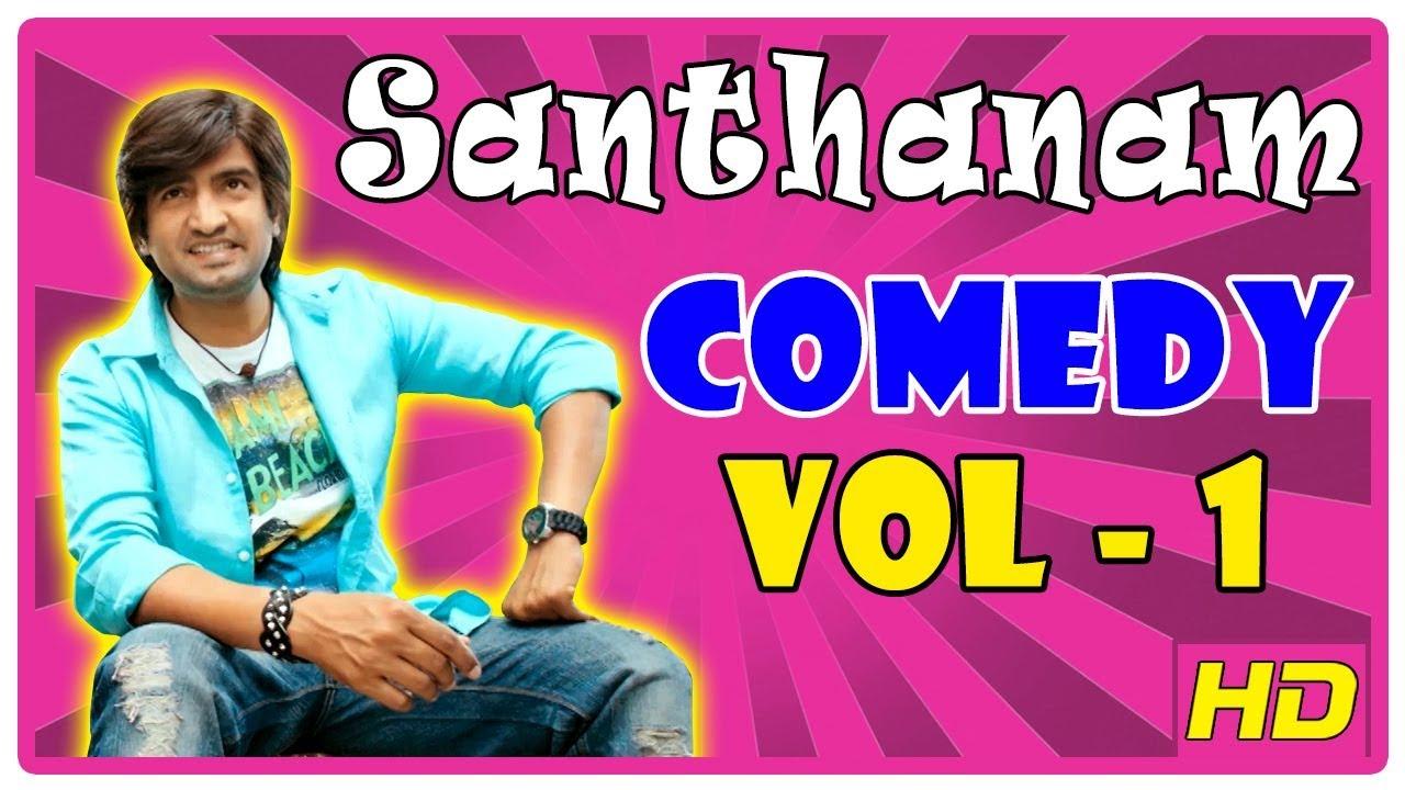 Santhanam Comedy Scenes   Vol 1   Arya   Nayanthara ...