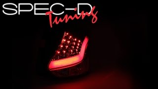 SPECDTUNING DEMO VIDEO: 2012-2014 FORD FOCUS LED TAIL LIGHTS