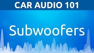 Car Subwoofers Overview Video