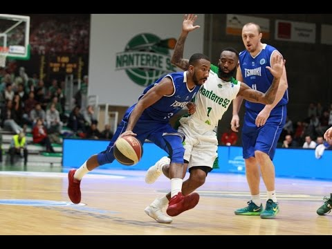 2017-01-04: FIBA Europe Cup - Nanterre 92 vs. Цмоки-Минск Full Game
