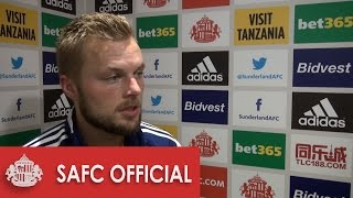 Seb Larsson on goal and point against Everton