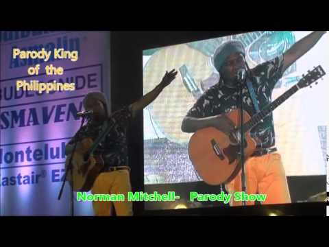 Norman Mitchell  Guitar  Comedian Comedy King sings My Prayer in Manila Philippines