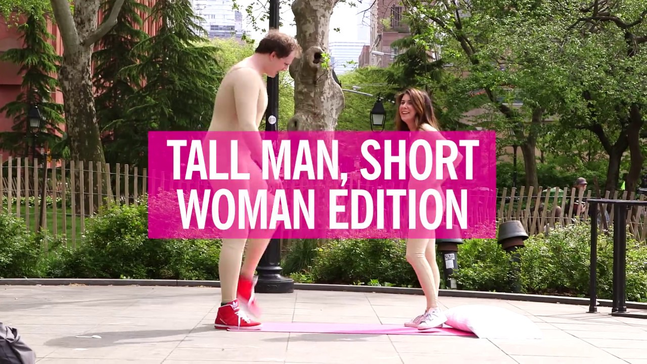 Sex positions with a tall man
