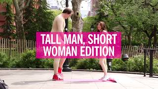 Sex Positions Attempted by Real Couples with a Height Difference | Cosmopolitan