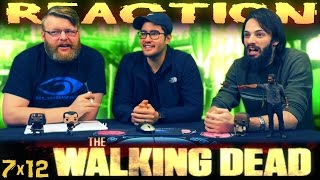"""The Walking Dead 7x12 REACTION!! """"Say Yes"""""""
