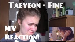 Taeyeon/태연 - Fine MV Reaction - Hannah May