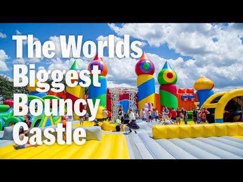 Worlds Largest Bouncy Castle Big Bounce America
