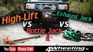 Highlift jack vs Bottle jack vs Exhaust jack