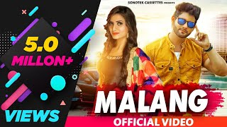 Malang Vijay Varma Arzoo Dhilon Masoom Sharma Ruchika Jangid New Haryanvi Song Haryanavi2019