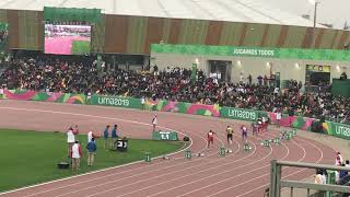 Men's 200m FINAL at the Pan American Games in Lima (2019)