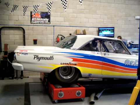 1965 plymouth satellite race car Chis dyno 535 CID MOPAR STROKER