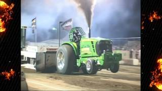 2015 Badger State Tractor Pullers 466 Hot Farm Points Champion Deere Addiction