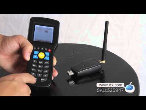 DX: Convenient Handheld Wired Barcode Scanner Collector