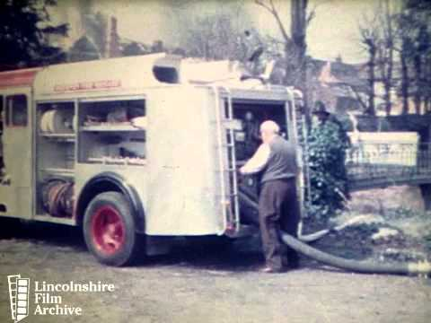 FIRE AT SMEETONS, SLEAFORD 1969