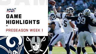 rams-vs-raiders-preseason-week-1-highlights-nfl-2019