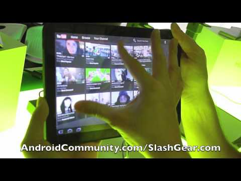 Android 3.0 Honeycomb Hands-on demo