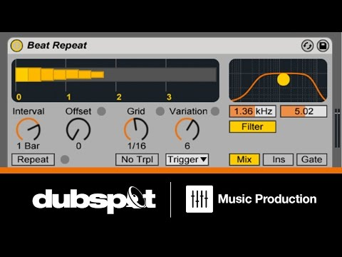 Ableton Live Tutorial: Drum Techniques w/ Beat Repeat