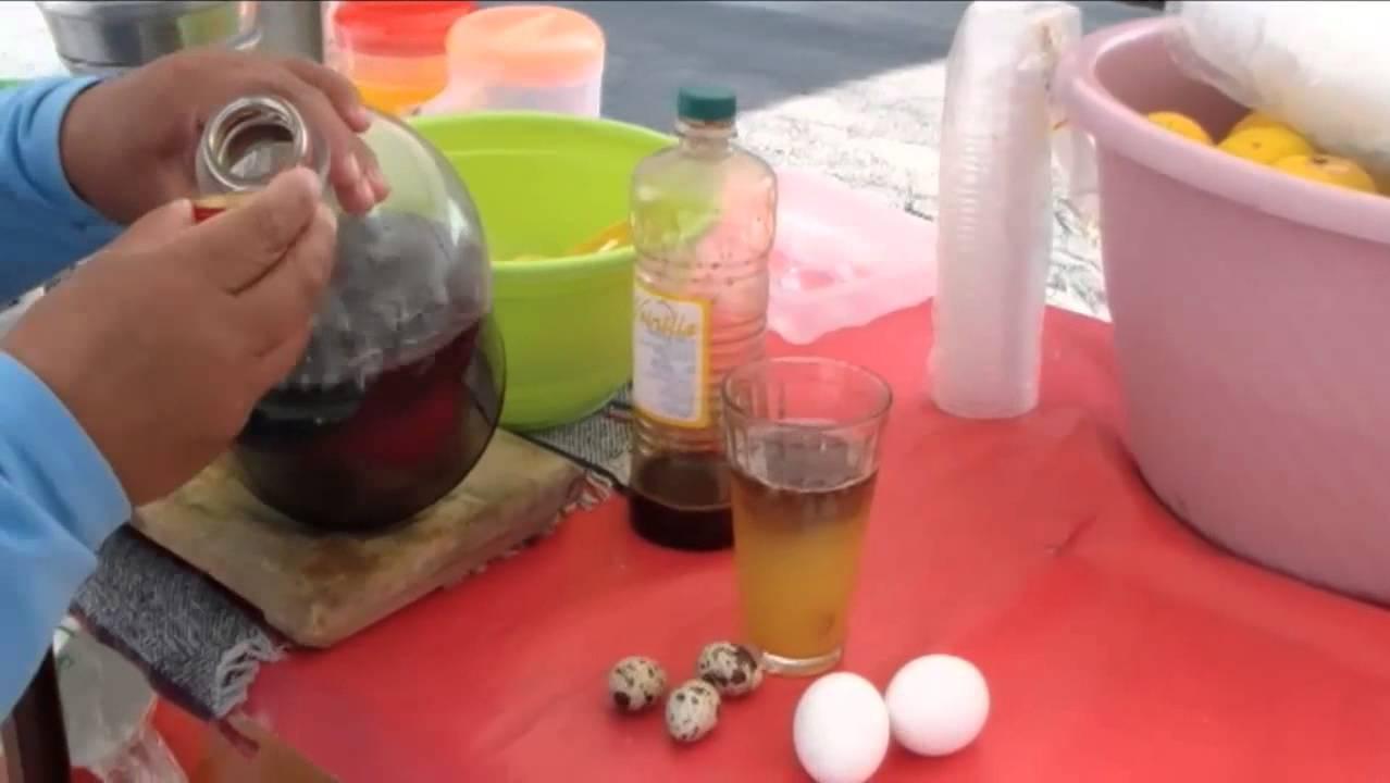 huevo crudo resaca